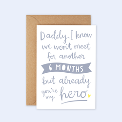 'Already You're My Hero' Father's Day Card