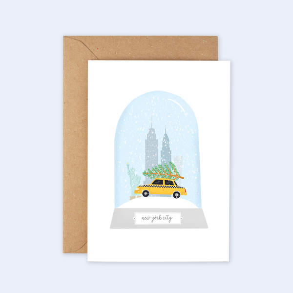New York City Christmas Card