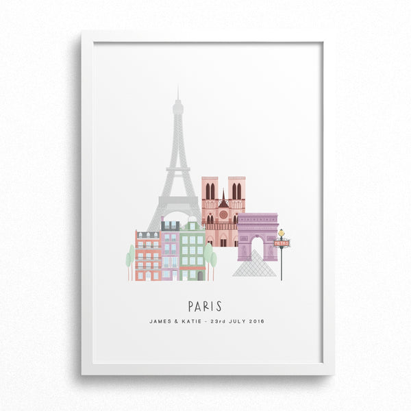 Paris City Print