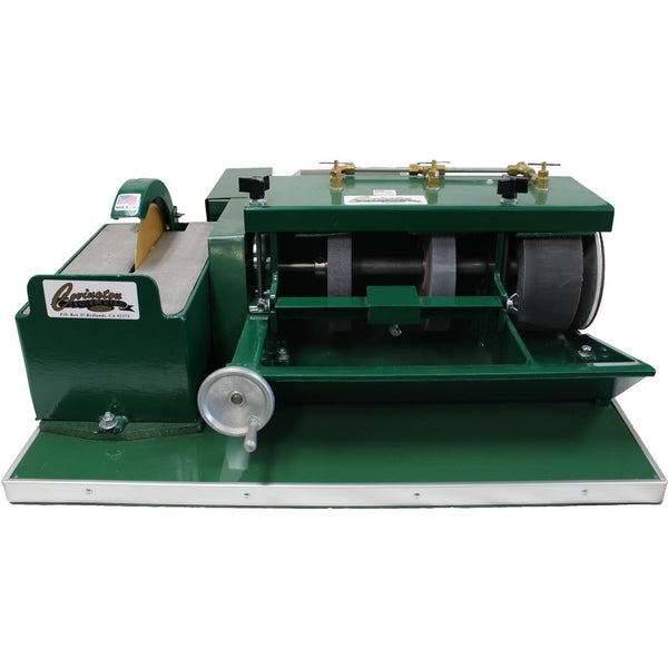 Covington Engineering Covington Engineering 6 Inch Silicon Carbide Combination Unit  - Lapidary Mart