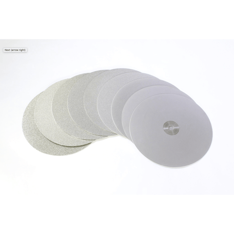 Image of Covington 8 Inch Diamond Faceting Discs