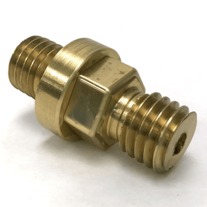 Covington Flat Lap Male to Male Brass Adapter