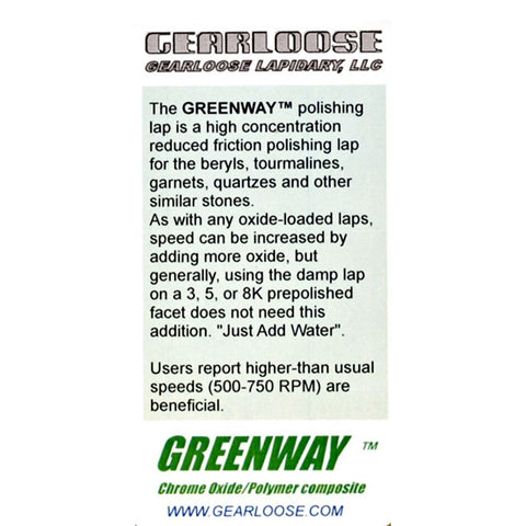 Gearloose Greenway™  - Lapidary Mart