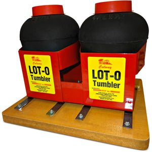 Lot-O-Tumbler Lot-O-Tumbler Vibratory Rock Tumbler Twin Barrel lot-o-twin  - Lapidary Mart