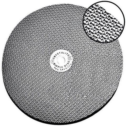 Crystalite Ripple Disc™  - Lapidary Mart