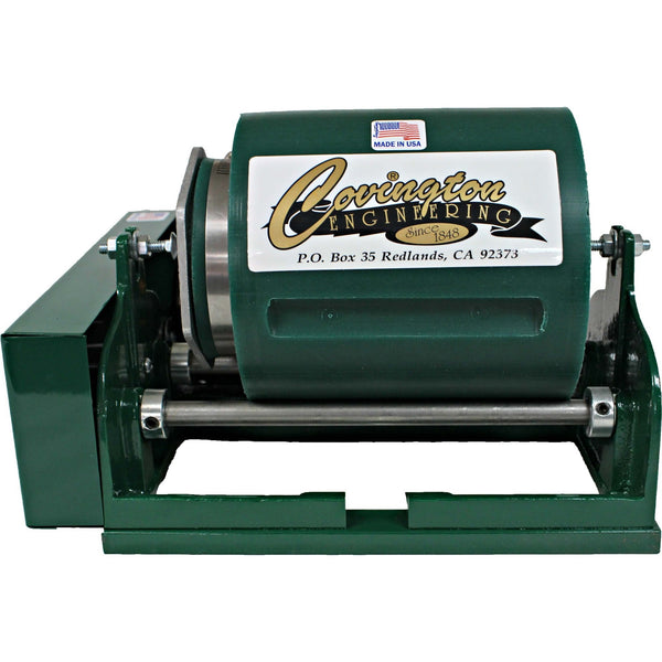 Covington Engineering Covington Engineering Single Half-Gallon Rolling Tumbler  - Lapidary Mart