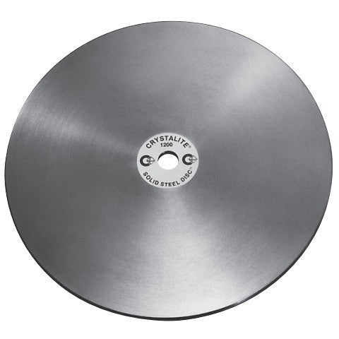 Crystalite Solid Steel Lap Discs  - Lapidary Mart