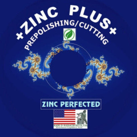Gearloose ZINC PLUS™ Laminated Prepolisher  - Lapidary Mart