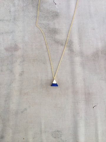 GOLDEN PEAKS NECKLACE