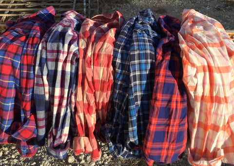 VINTAGE FLANNELS-EXTRA SMALL