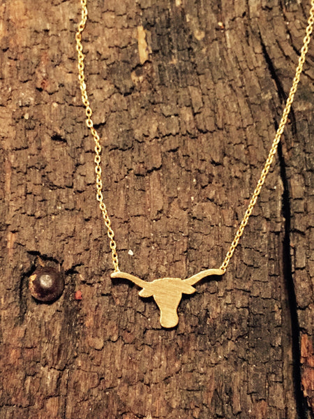 LONGHORN NECKLACE