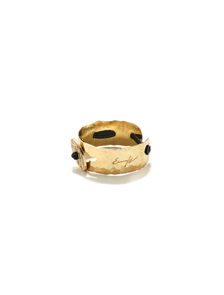 gold ring, fashion ring, ring, k18 ring, handmade ring, boho style ring, boho ring, fashion jewerly, luxury ring, luxury jewellery, cord ring, diamond ring