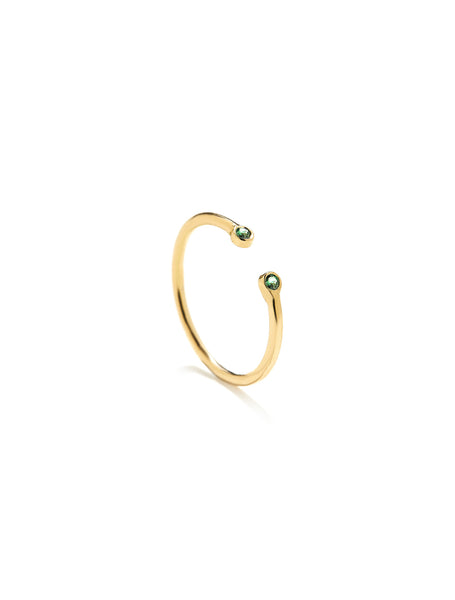 gold ring, fashion ring, ring, k18 ring, handmade ring, boho style ring, boho ring, fashion jewerly, luxury ring, luxury jewellery, emerald ring