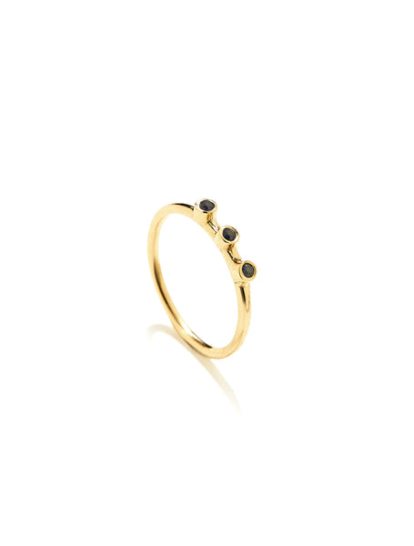 gold ring, fashion ring, ring, k18 ring, handmade ring, boho style ring, boho ring, fashion jewerly, sapphire ring, luxury ring, luxury jewellery