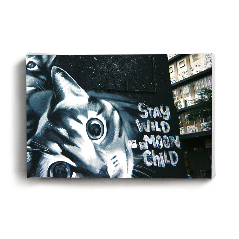 Canvas Print - Stay Wild | www.iiilovelocal.com