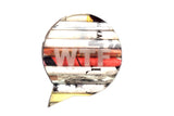 Brooch Speech Bubble - WTF (RP) | www.iiilovelocal.com