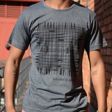T-Shirt Grey - LINES Design | www.iiilovelocal.com