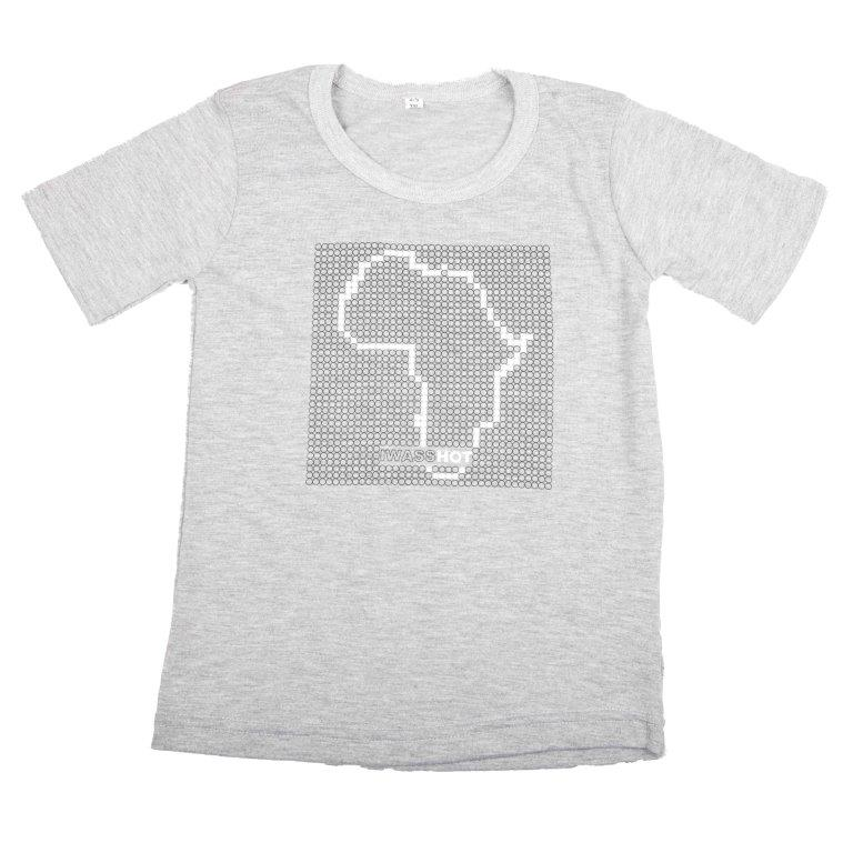 Baby-T Light Grey - Africa Dots | www.iiilovelocal.com