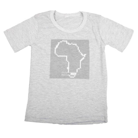 T-Shirt Brown - Africa Dots