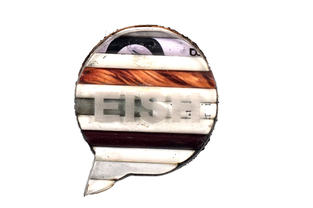 Brooch Speech Bubble -Eish (RP) | www.iiilovelocal.com