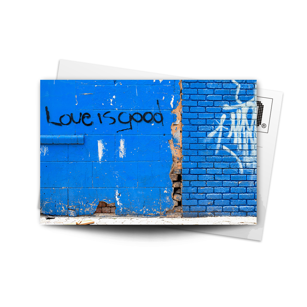 Post Card Love is Good | www.iiilovelocal.com