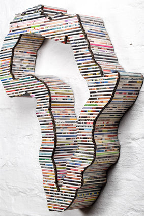 Recycled Rolled Paper - 3D Africa | www.iiilovelocal.com
