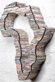 Recycled Rolled Paper - 3D Africa