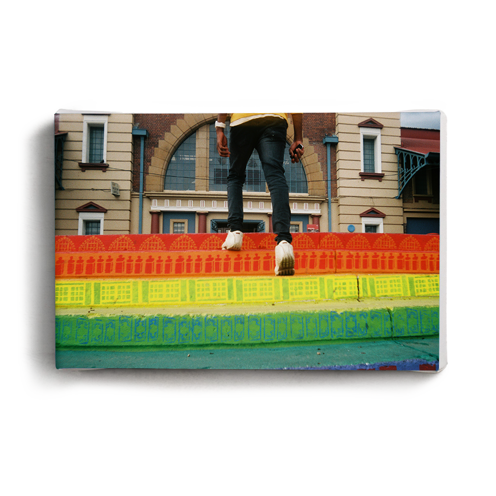 Canvas Print Colourful Steps | www.iiilovelocal.com
