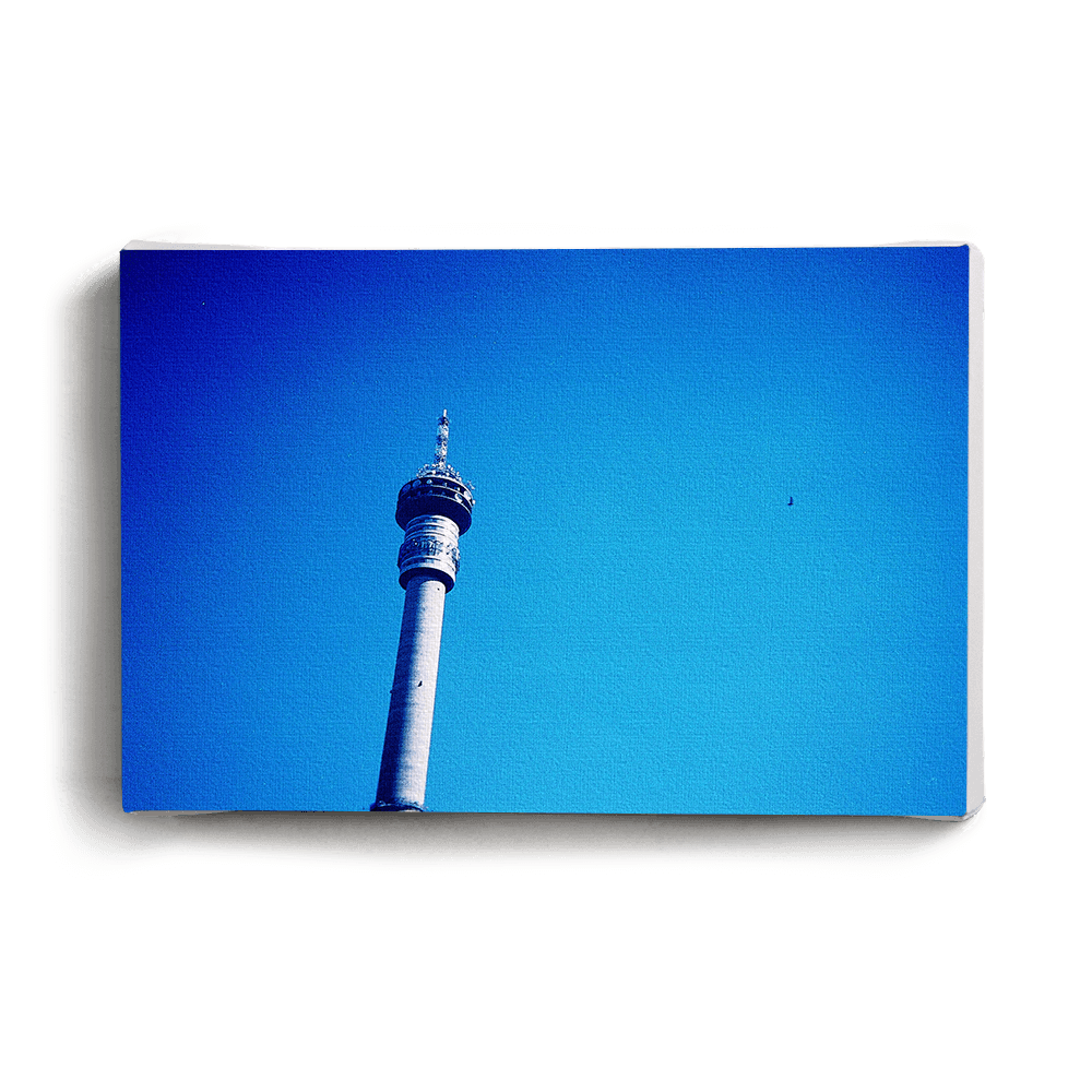 Canvas Print Blue Sky Telkom Tower | www.iiilovelocal.com