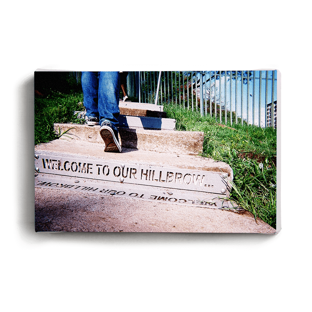 Canvas Print Welcome To Our Hillbrow Canvas Print - iiilovelocal