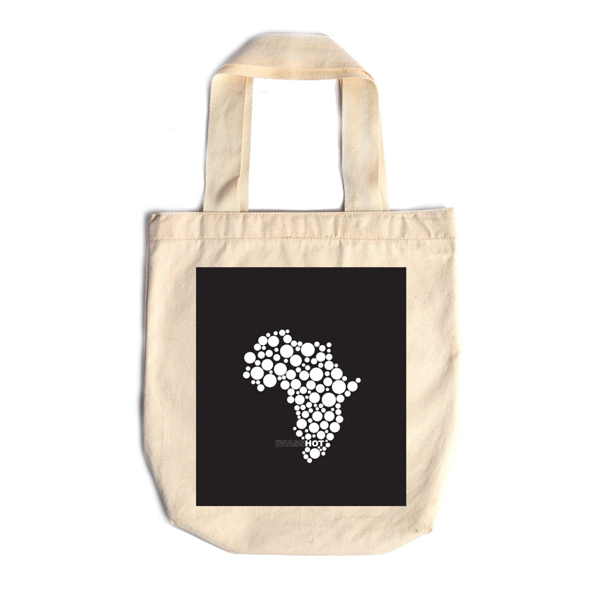 Shopping Bag Africa Black - iiilovelocal.com