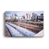 Canvas Print Train Skyline | www.iiilovelocal.com