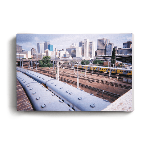 Canvas Print Trains