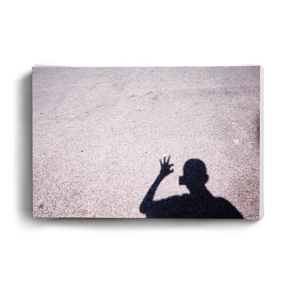 Canvas Print Shadow Hand | www.iiilovelocal.com