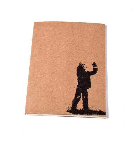Notebook Brown Floppy Cover Boxing Madiba Building