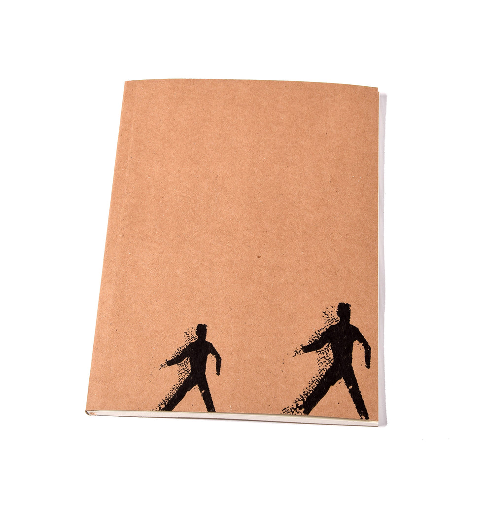 Notebook Brown Paper Cover - Walk