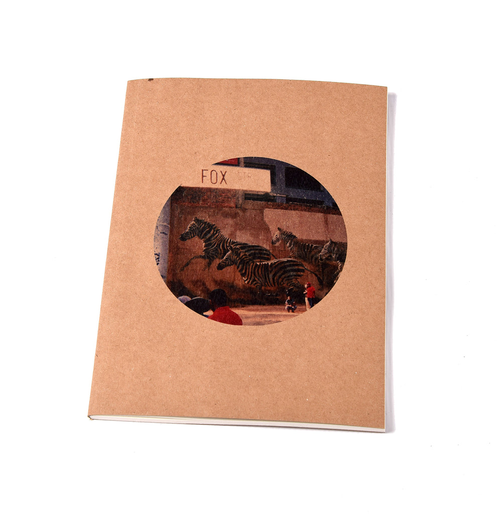 Notebook Brown Floppy Cover Zebra | www.iiilovelocal.com
