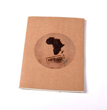 Notebook Brown Floppy Cover Made in Africa | www.iiilovelocal.com