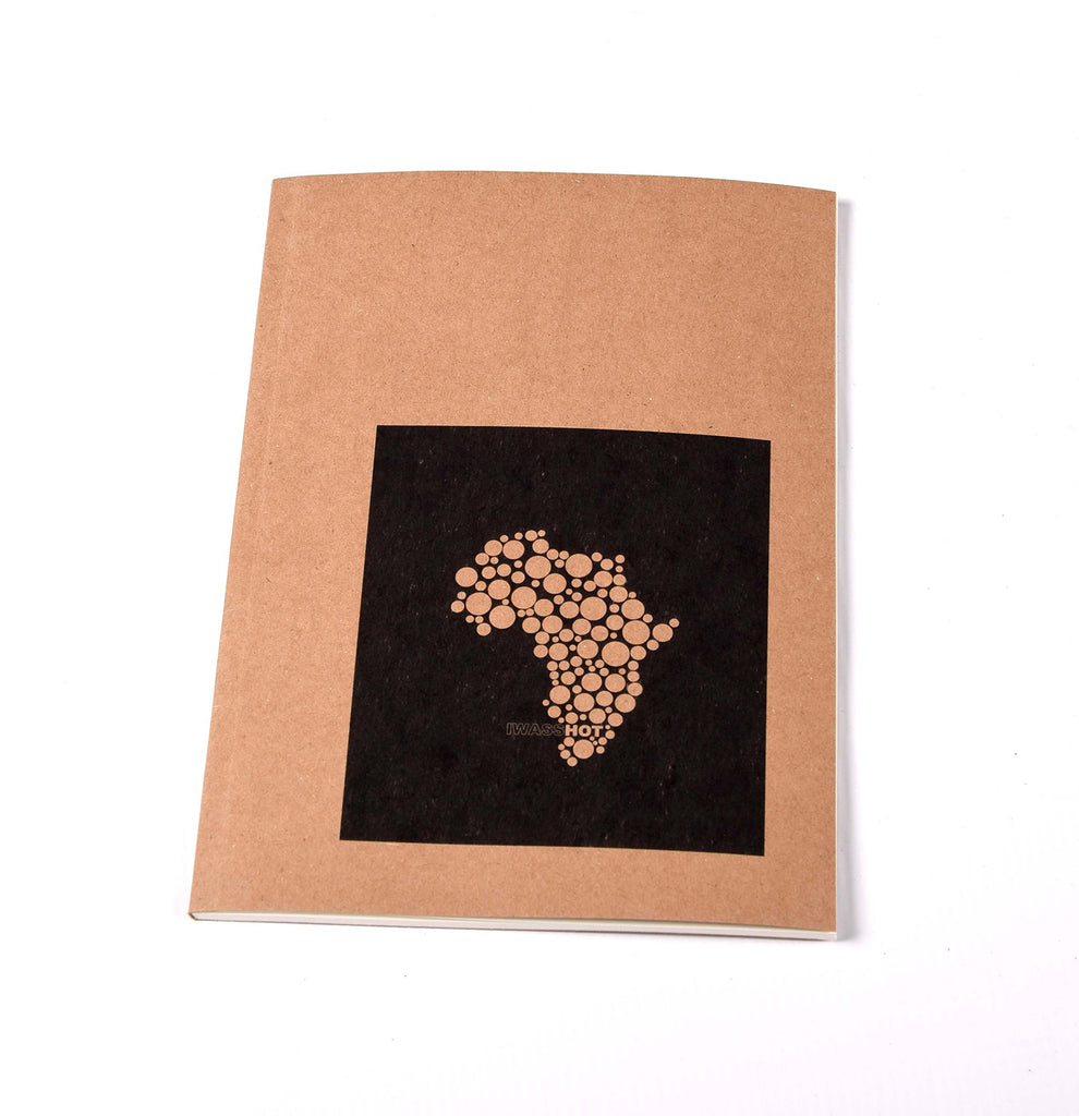 Notebook Brown Floppy Cover Africa Dots | www.iiilovelocal.com