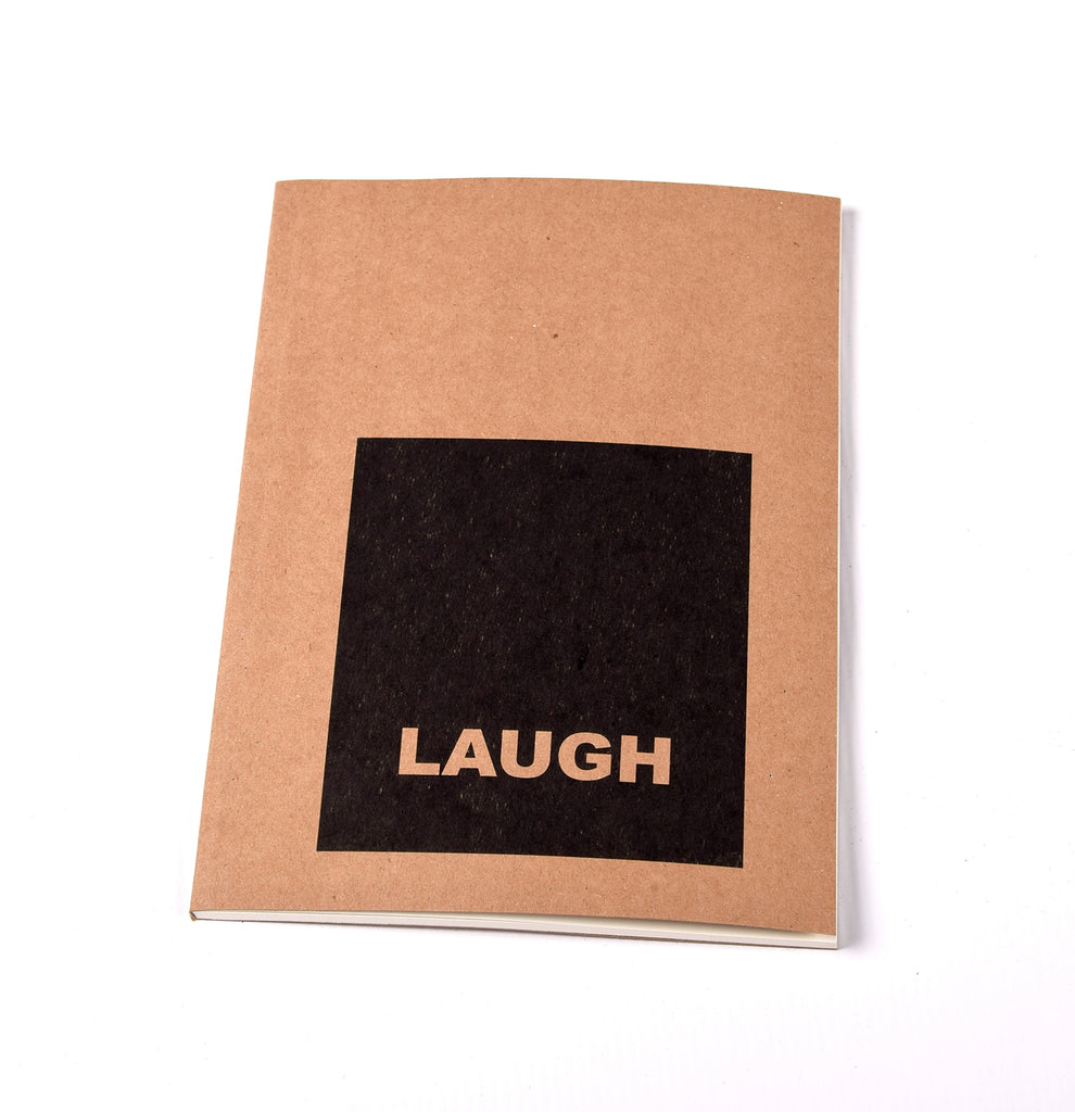 Notebook Brown Floppy Cover Laugh | www.iiilovelocal.com