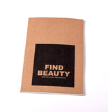 Notebook Brown Floppy Cover Find Beauty | www.iiilovelocal.com