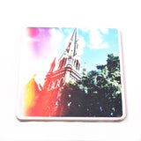Wooden Photo Block Church | www.iiilovelocal.com