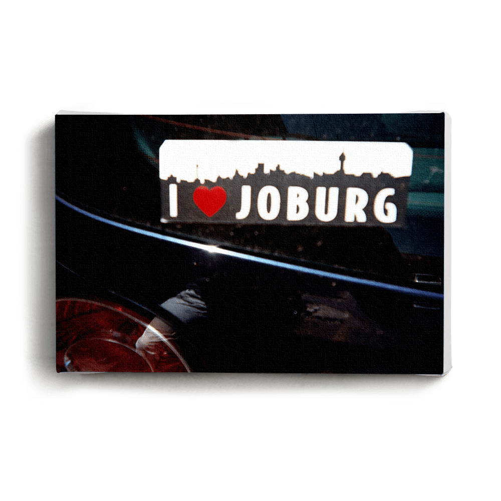 Canvas Print I Love Joburg | www.iiilovelocal.com