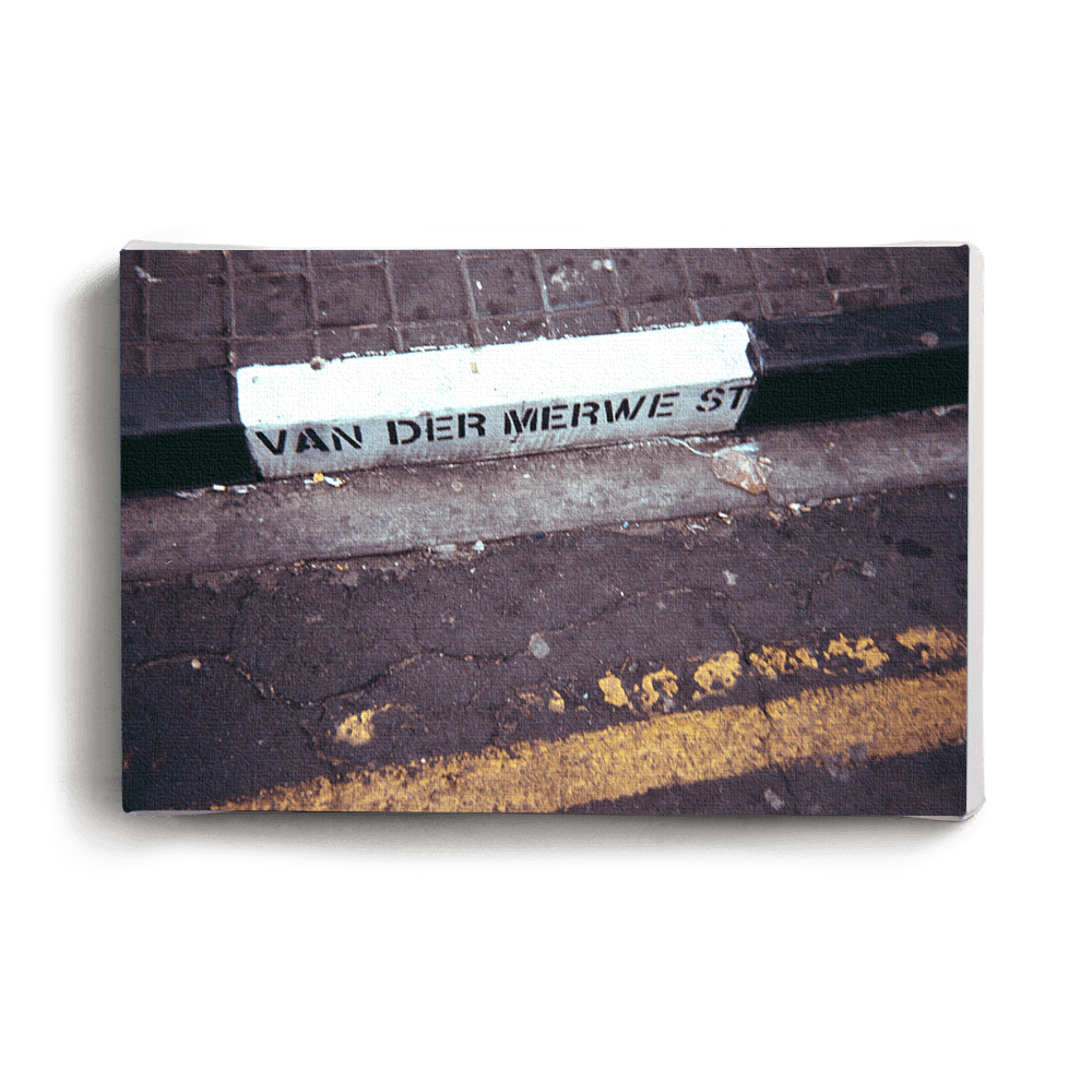 Canvas Print Van Der Merwe St | www.iiilovelocal.com