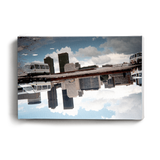 Canvas Print Skyline Reflection | www.iiilovelocal.com
