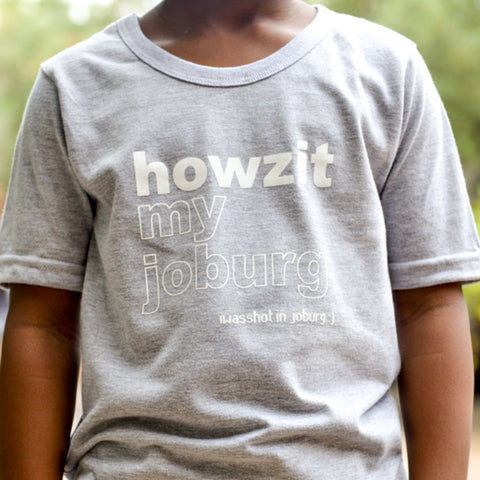 Kids-T Light Grey - Howzit