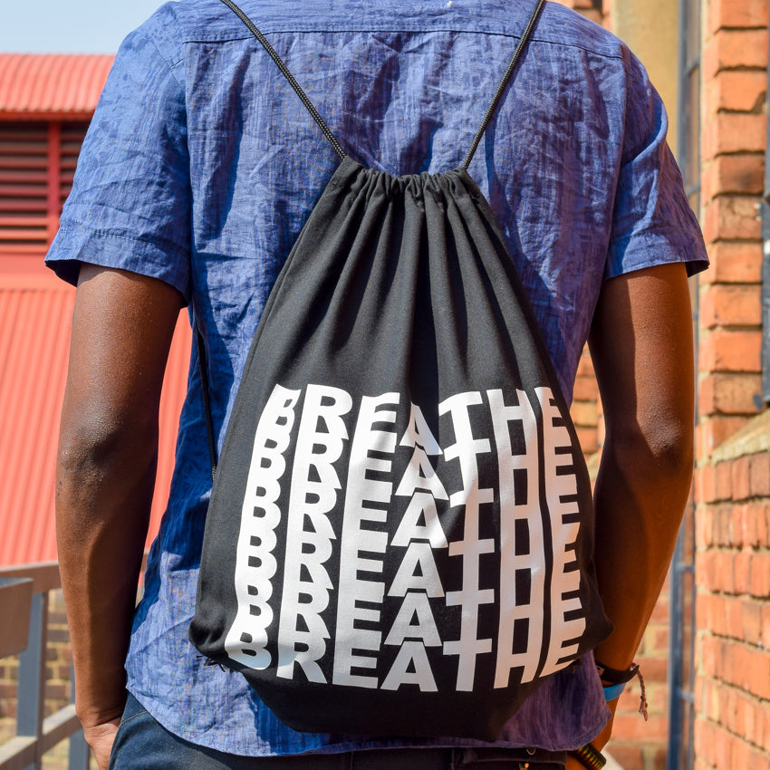 Drawstring Bag Breath | www.iiilovelocal.com