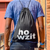 Drawstring Bag Howzit | www.iiilovelocal.com