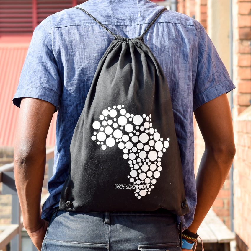 Drawstring Bag Africa | www.iiilovelocal.com