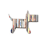 Recycled Rolled Paper DOG | www.iiilovelocal.com